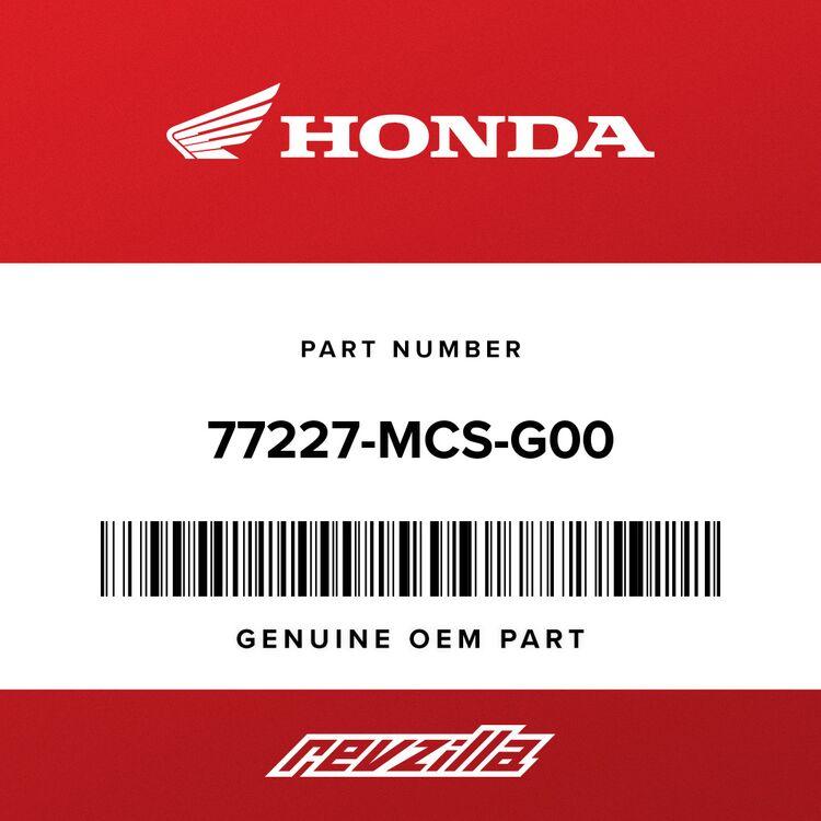 Honda LOCK ASSY., SADDLEBAG LEVER 77227-MCS-G00