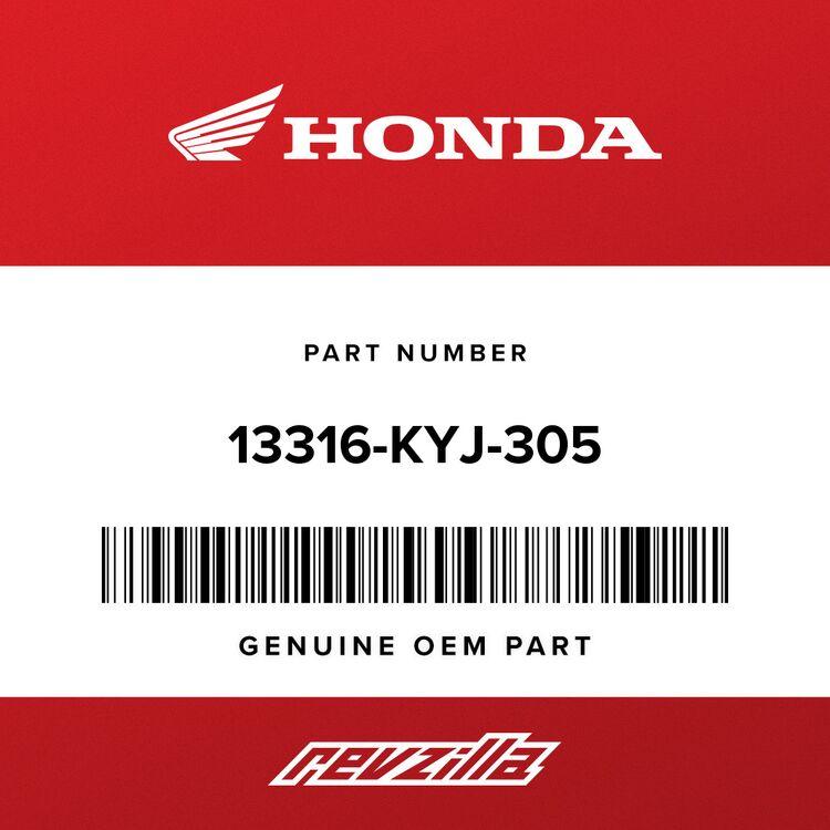 Honda BEARING E, CRANKSHAFT (OVER SIZE) (GREEN) 13316-KYJ-305