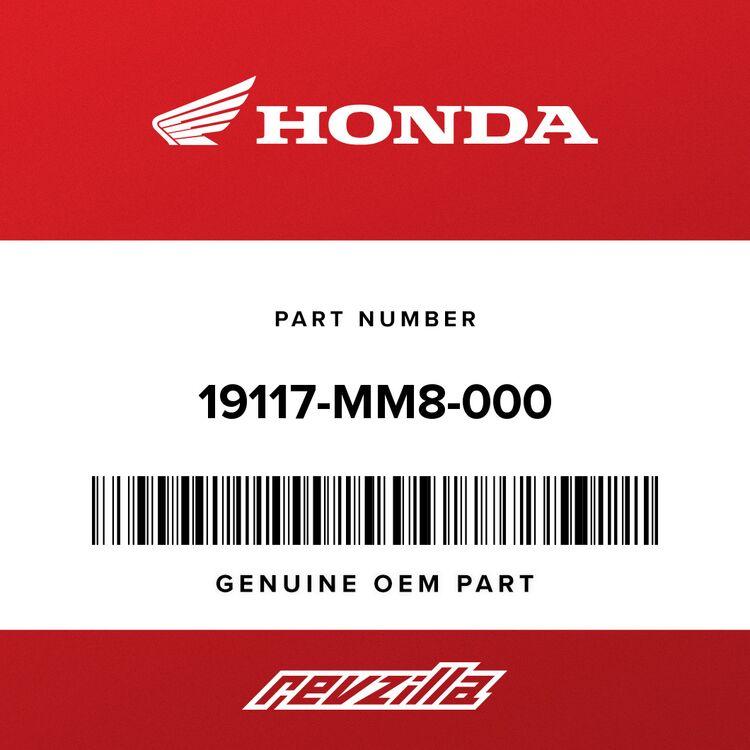 Honda HOSE, RADIATOR (LOWER) 19117-MM8-000