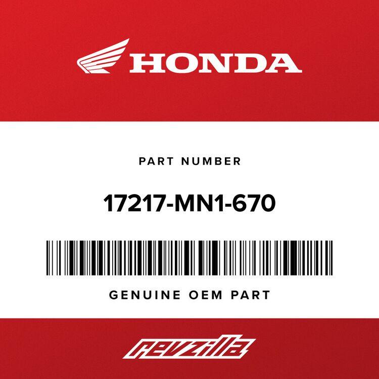 Honda PLATE, HOLDER 17217-MN1-670