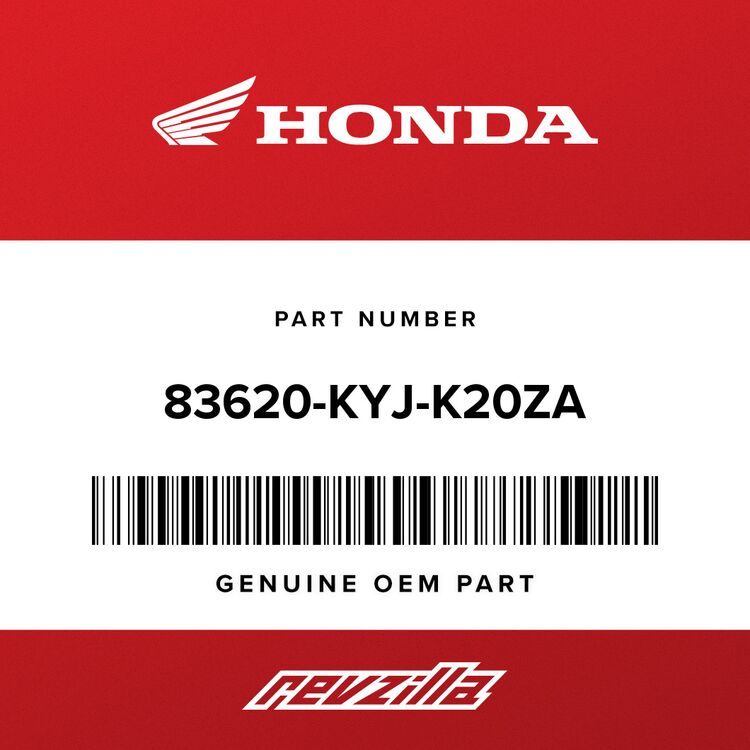 Honda COVER SET, R. RR. (TYPE1) (WL) 83620-KYJ-K20ZA