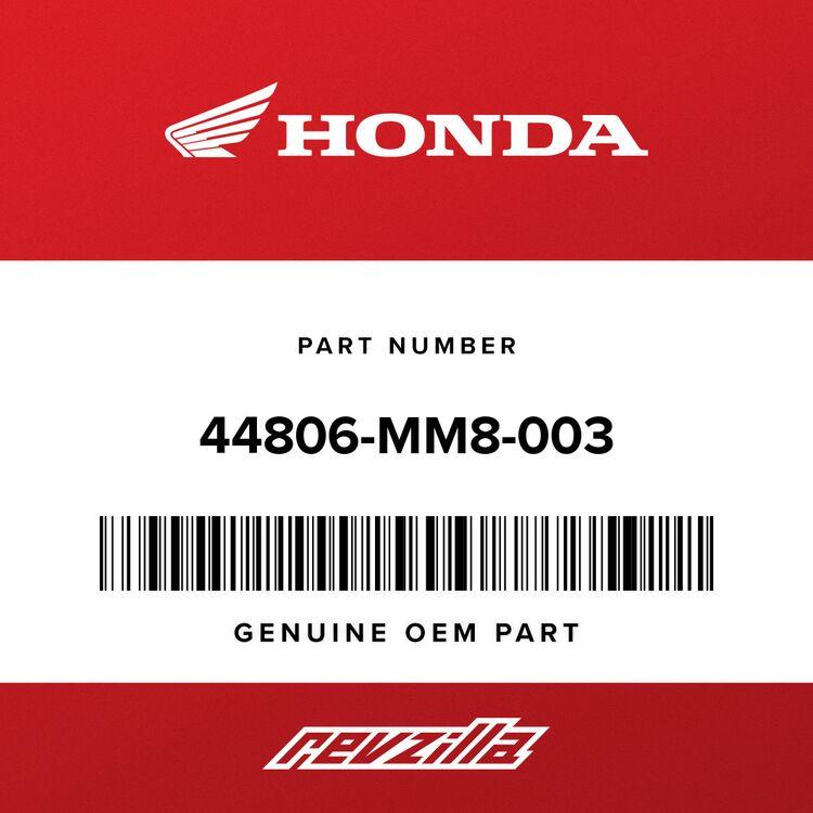 Honda GEAR, SPEEDOMETER 44806-MM8-003
