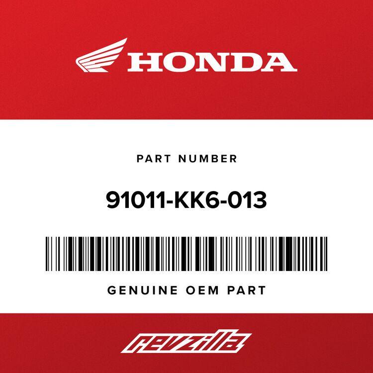 Honda BEARING, RADIAL BALL (16003) 91011-KK6-013