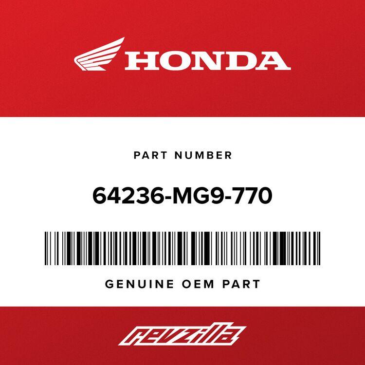 Honda GROMMET, HEADLIGHT ADJUSTING 64236-MG9-770