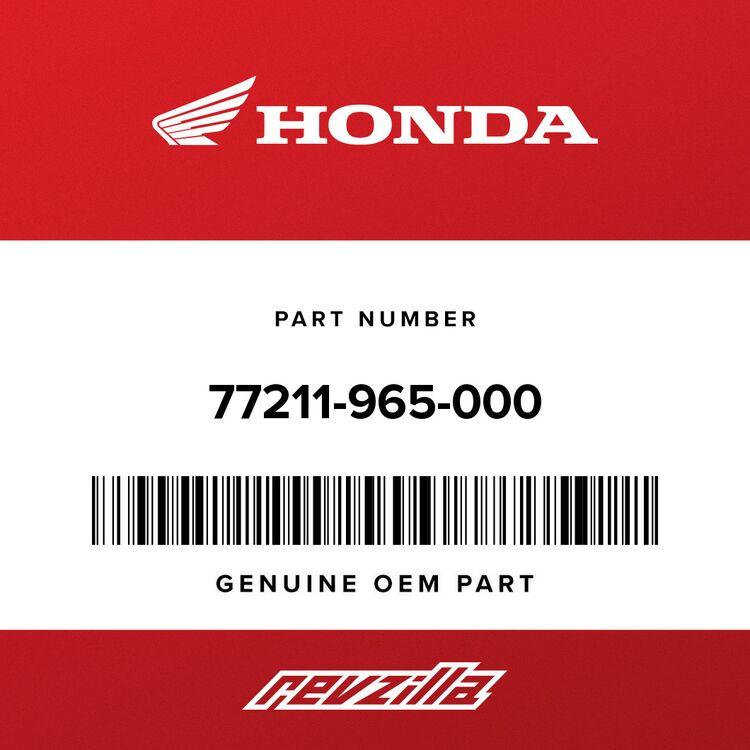Honda RUBBER, SEAT STOPPER 77211-965-000