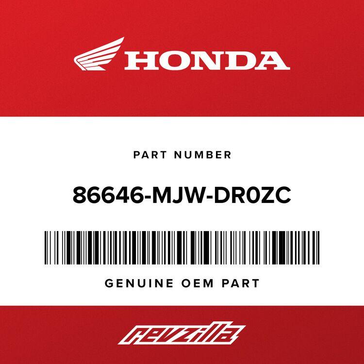 Honda STRIPE C, L. MIDDLE COWL (TYPE1) 86646-MJW-DR0ZC