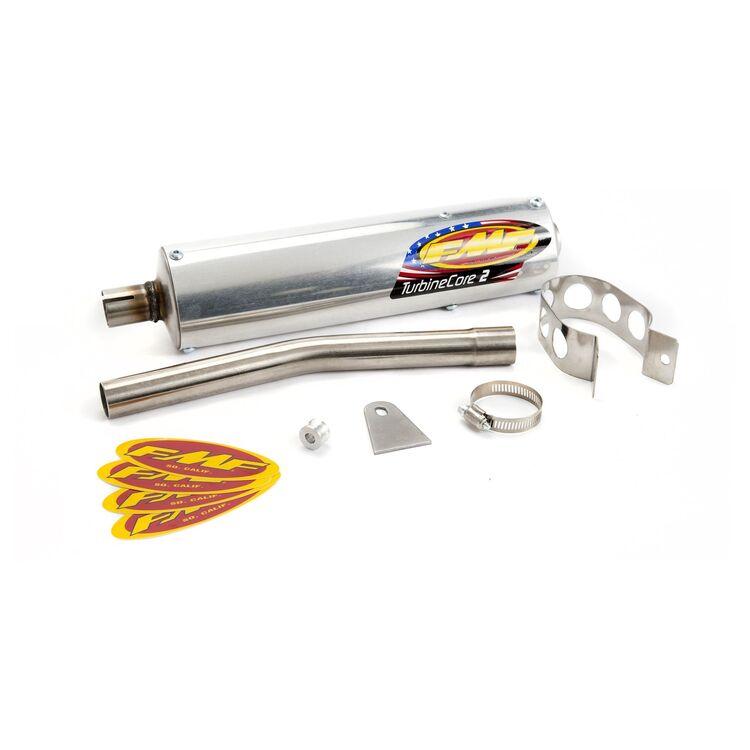 FMF Universal 2 Stroke Turbinecore Silencer 1 1/8 Inner Diameter [Blemished - Very Good]