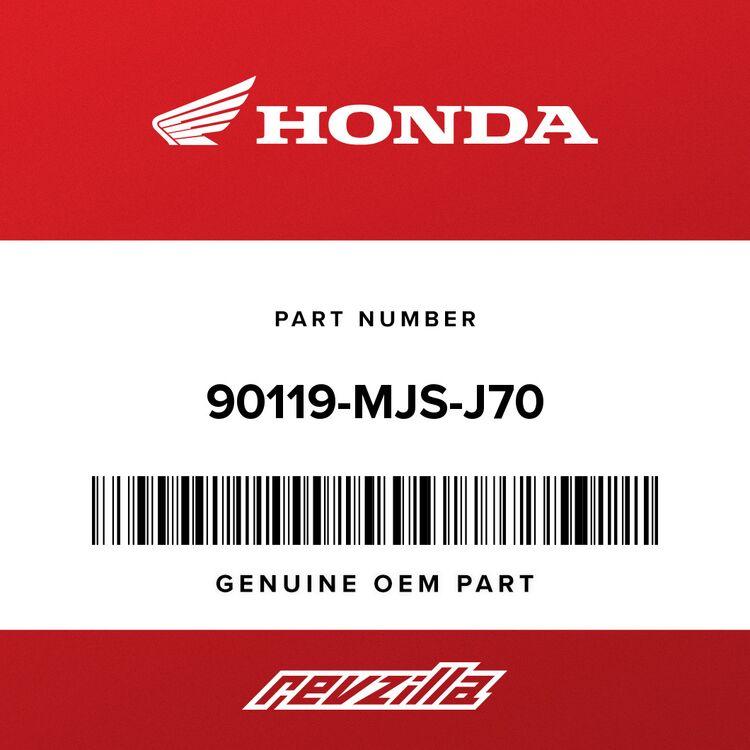 Honda BOLT, SPECIAL (5X22) (SUS) 90119-MJS-J70