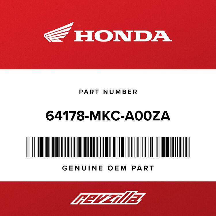 Honda COVER, L. WINDSCREEN *NHA86M* (MAT BALLISTIC BLACK) 64178-MKC-A00ZA