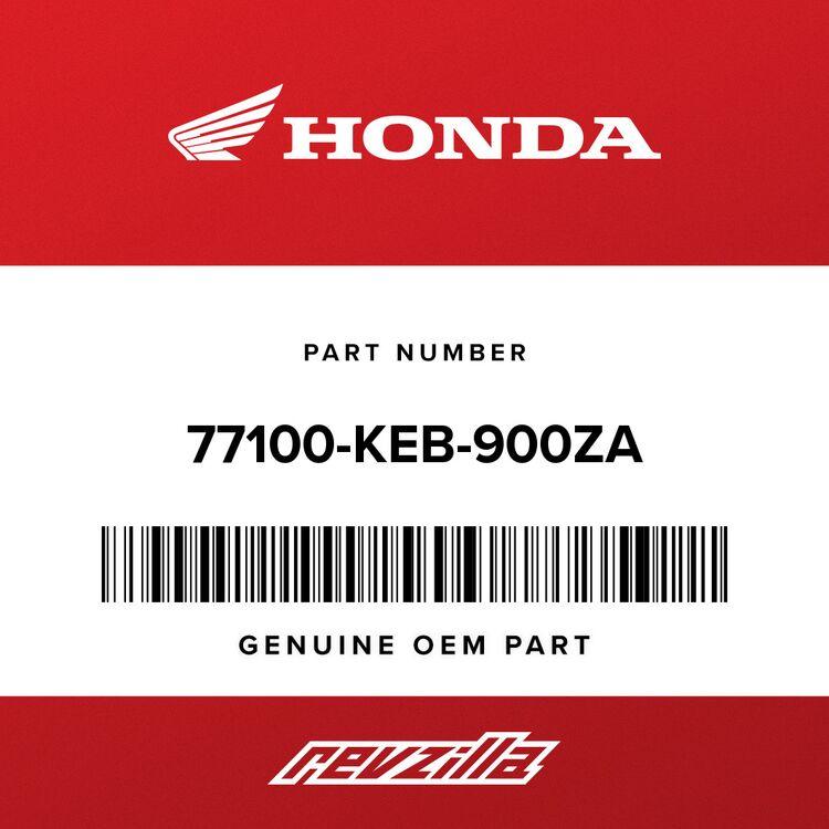 Honda SEAT ASSY., FR. *NH1L* (BLACK) 77100-KEB-900ZA