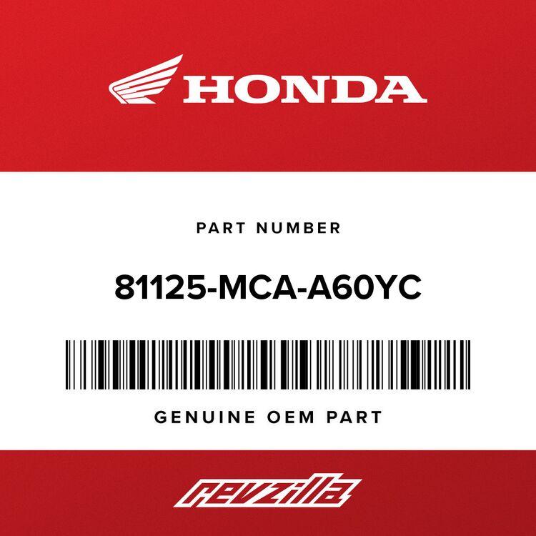 Honda LID SET, TRUNK *NHB01* (WL) (GRAPHITE BLACK) 81125-MCA-A60YC