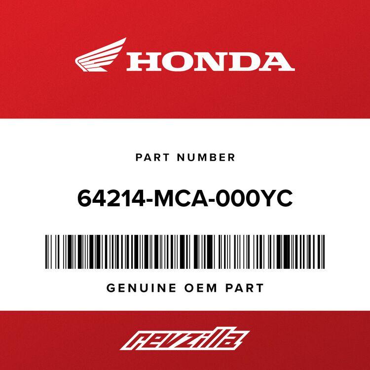 Honda MOLDING, L. COWL TRIM *R325M* (CALIENTE RED METALLIC) 64214-MCA-000YC