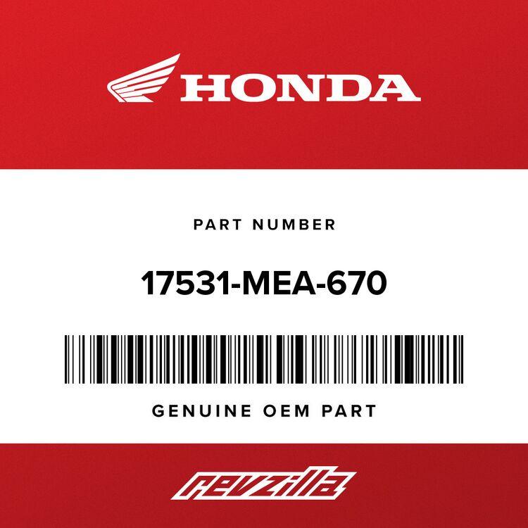 Honda EMBLEM, R. FUEL TANK 17531-MEA-670