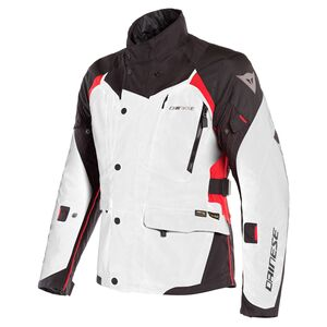 Dainese X-Tourer D-Dry Jacket Light Grey/Black/Tour Red / 54 [Blemished - Very Good]