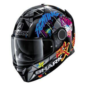 Shark Spartan Lorenzo Catalunya GP 2018 Replica Helmet