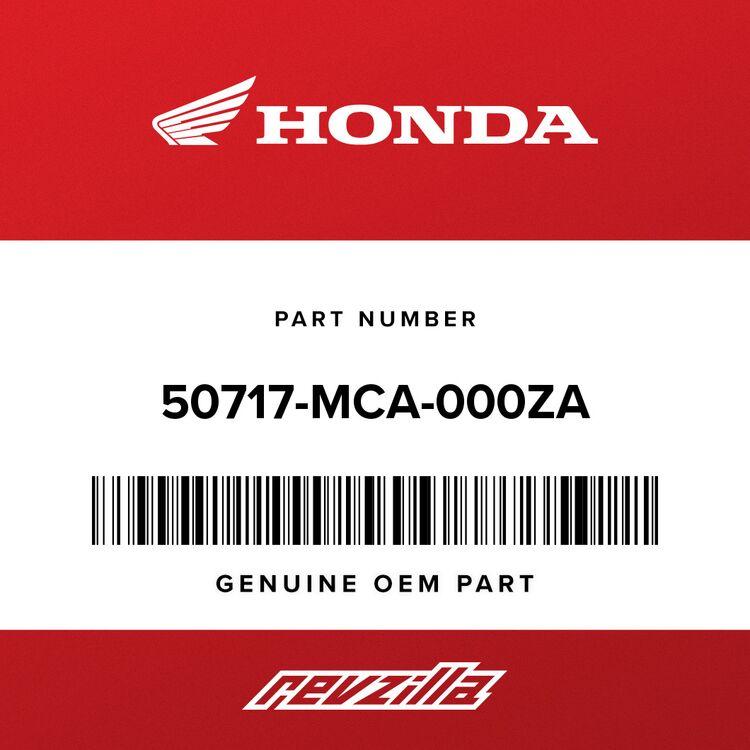 Honda COVER, R. PILLION STEP (LOWER) *NH454M* (ECLIPSE SILVER METALLIC) 50717-MCA-000ZA