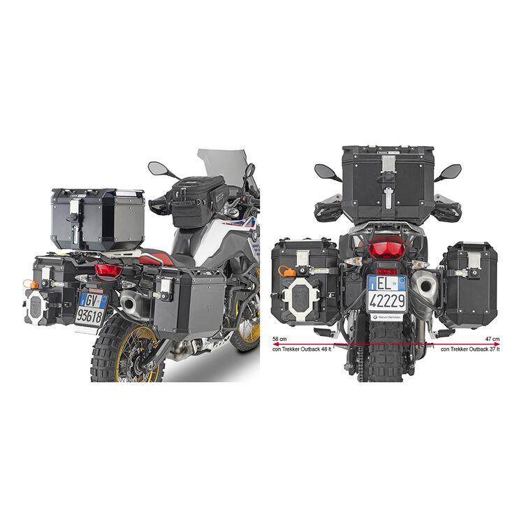 Givi PL5127CAM Side Case Racks For Trekker Outback Side Cases BMW F750GS / F850GS / Adventure 2018-2020