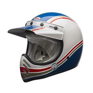 Bell Moto-3 RSD Malibu Helmet (MD) Blue/White / SM [Demo - Good]