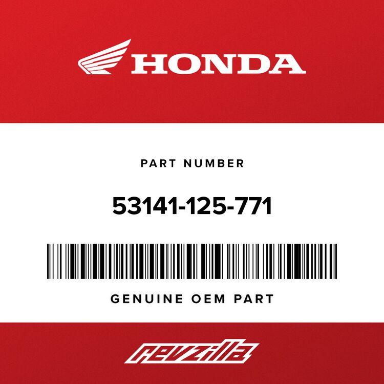 Honda PIPE, THROTTLE GRIP 53141-125-771
