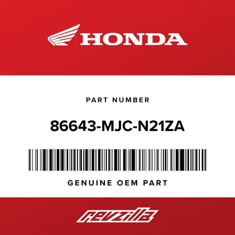 Honda STRIPE, R. COWL (UPPER) (TYPE1) 86643-MJC-N21ZA