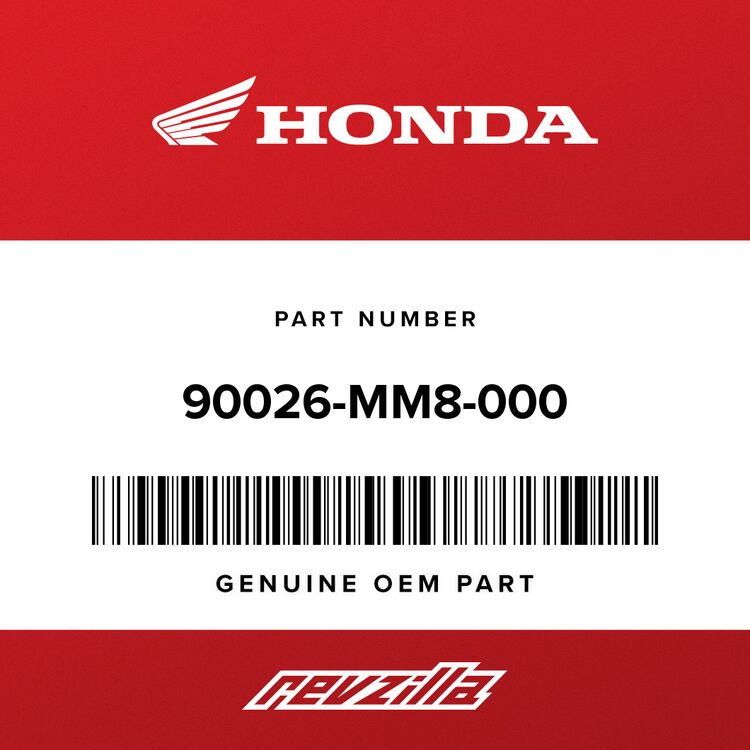 Honda BOLT, UBS (7X15) 90026-MM8-000