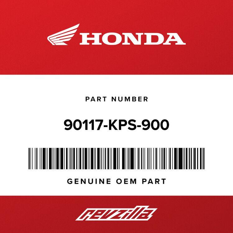 Honda BOLT, FLANGE (6X35) 90117-KPS-900