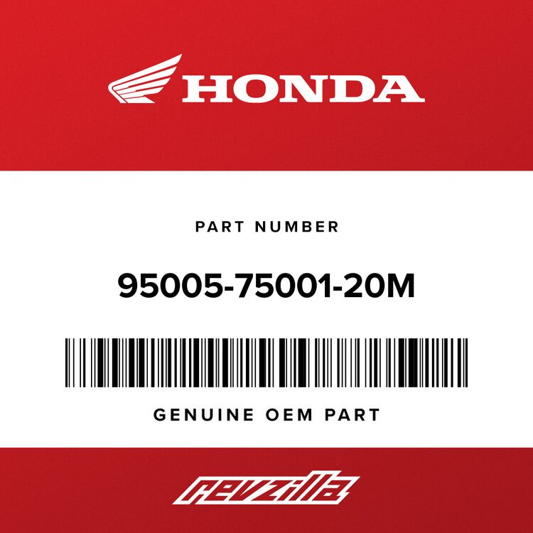 Honda BULK HOSE, VACUUM (7.3X1000) (7.3X500) 95005-75001-20M
