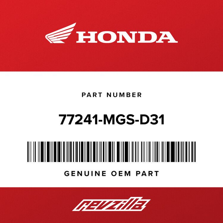 Honda CABLE, SEAT LOCK 77241-MGS-D31