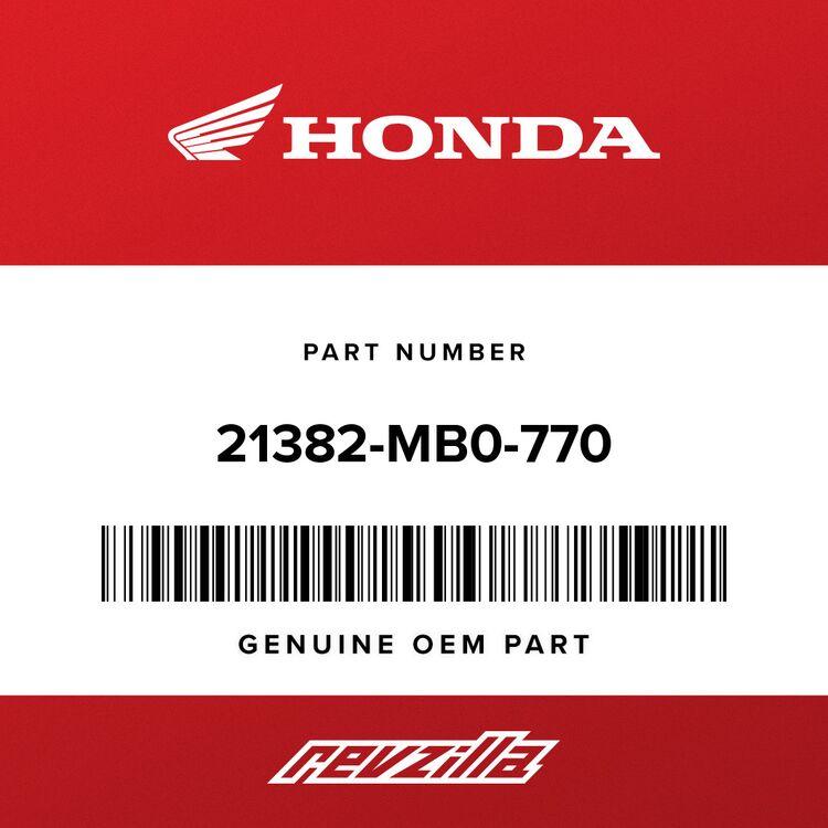 Honda SHIM, CROSS SHAFT (0.45) 21382-MB0-770