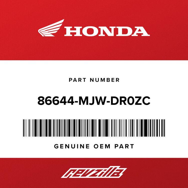 Honda STRIPE B, L. MIDDLE COWL (TYPE1) 86644-MJW-DR0ZC