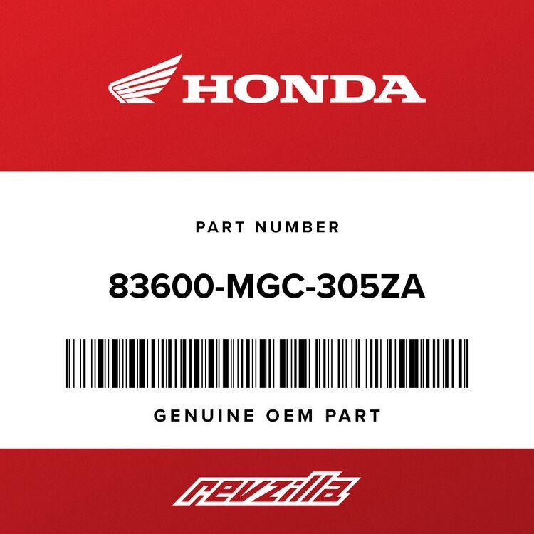 Honda COVER SET, R. SIDE *2TN007* (WL)(COO) (MAT BLACK #15-#20 /CANDY ALIZ ARIN RED) 83600-MGC-305ZA
