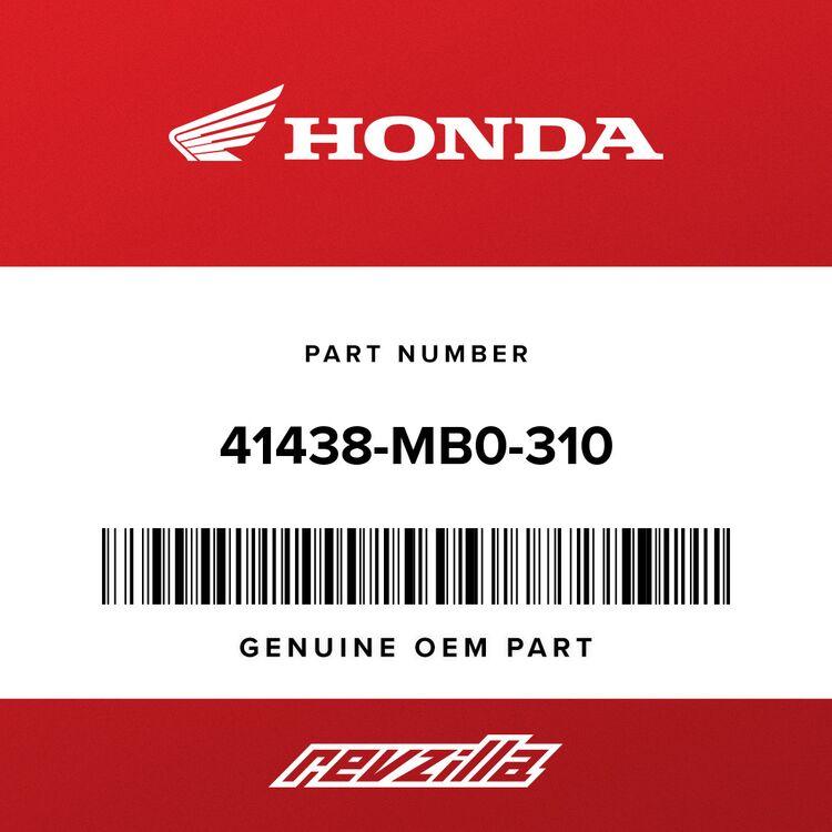 Honda SHIM B, STOPPER PIN (0.15) 41438-MB0-310