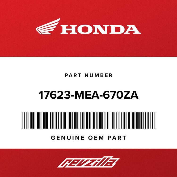 Honda MARK, TOP COVER (TYPE1) 17623-MEA-670ZA