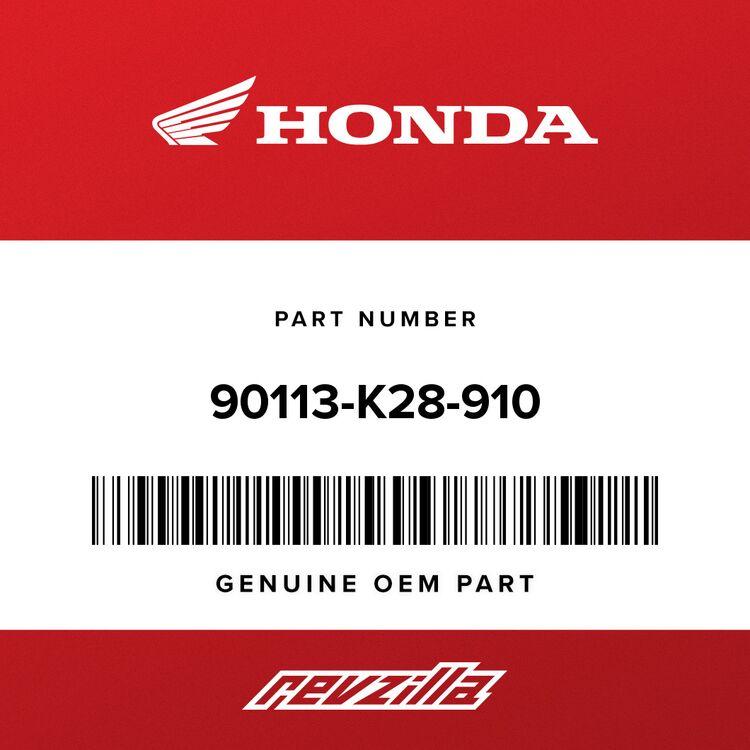 Honda WASHER, TANK MOUNTING 90113-K28-910