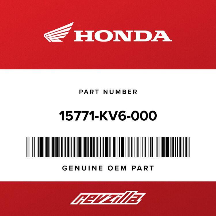 Honda CLIP, OIL DRAIN TUBE 15771-KV6-000