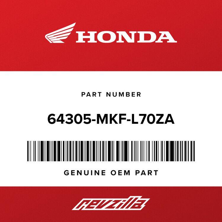 Honda COWL ASSY., R. MIDDLE *R334* (WL) (VICTORY RED) 64305-MKF-L70ZA
