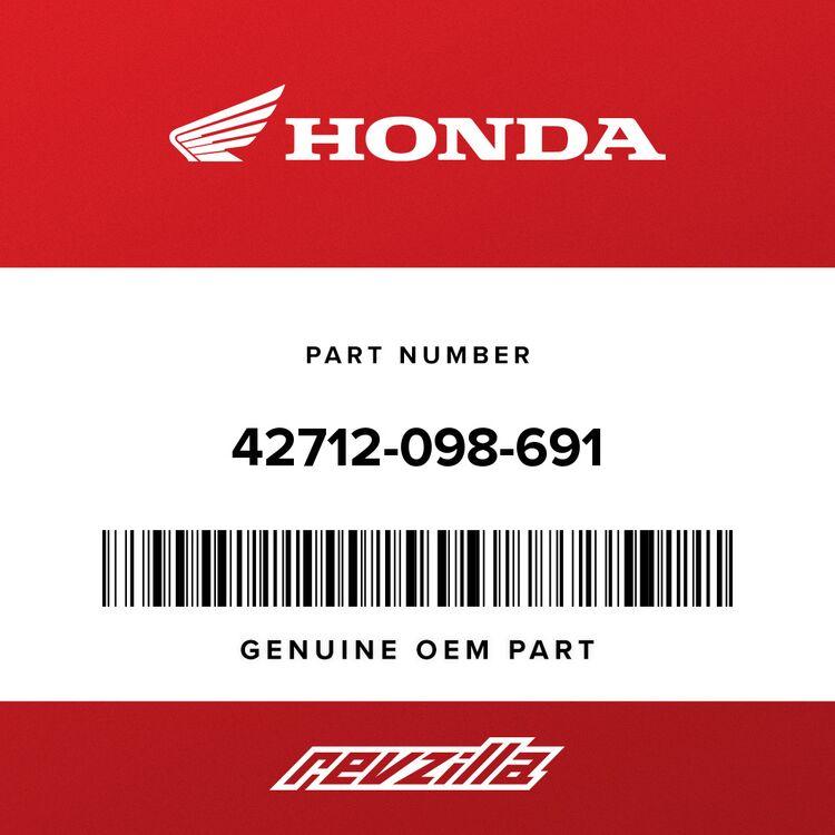 Honda TUBE, WHEEL (3.50-10) (BS) 42712-098-691