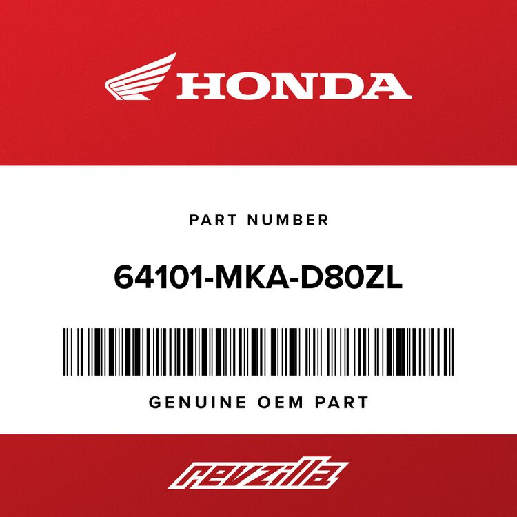 Honda LID A, LUGGAGE *R381C* (CANDY CHROMOSPHERE RED) 64101-MKA-D80ZL