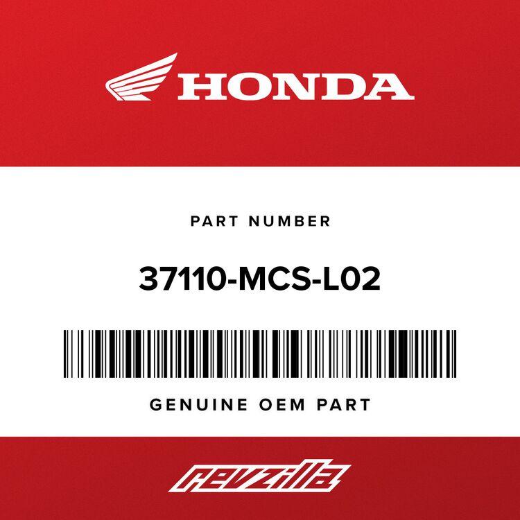 Honda METER, COMBINATION (MPH/KPH) 37110-MCS-L02