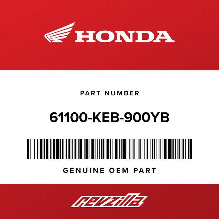 Honda FENDER, FR. *R300C* (CANDY RUBIDIUM RED) 61100-KEB-900YB