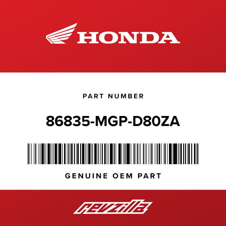 Honda MARK, HRC (80MM) (TYPE1) 86835-MGP-D80ZA