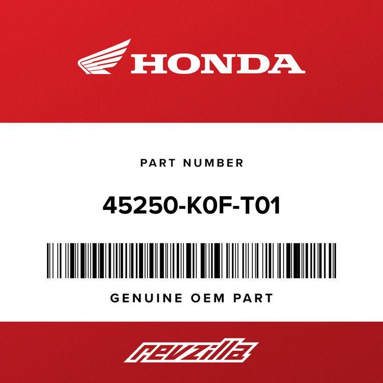 Honda CALIPER SUB-ASSY., R. FR. (NISSIN) 45250-K0F-T01