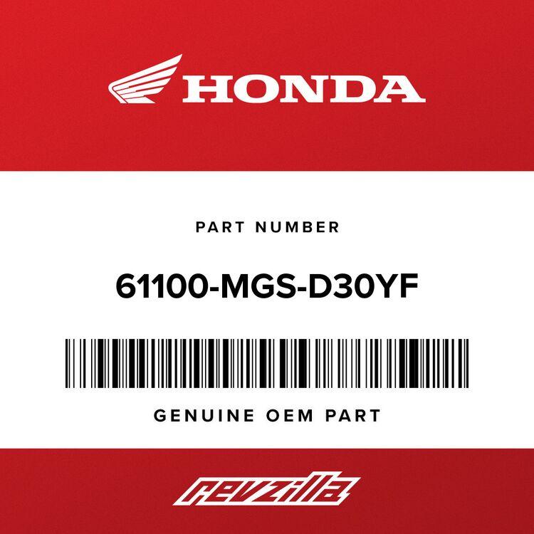 Honda FENDER, FR. *R381C* (CANDY CHROMOSPHERE RED) 61100-MGS-D30YF