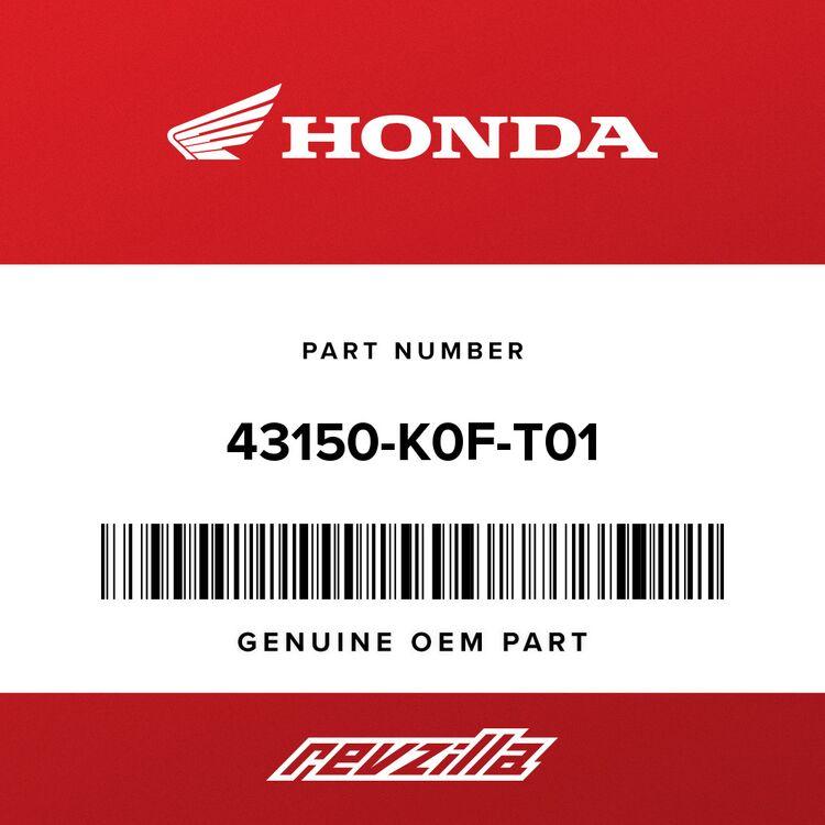 Honda CALIPER SUB-ASSY., RR. (NISSIN) 43150-K0F-T01
