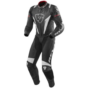 REV'IT! Venom Race Suit Black/White/Red / 56 [Blemished - Very Good]