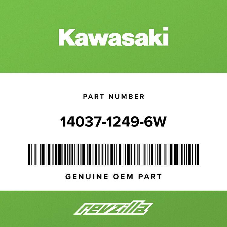 Kawasaki SCREEN, RADIATOR, L.GRE 14037-1249-6W