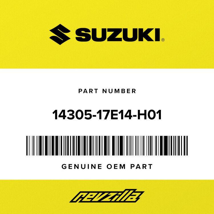 Suzuki BODY, MUFFLER 14305-17E14-H01