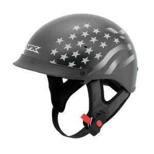 AFX FX-72 Stealth Flag Helmet Matte Black / MD [Demo - Good]