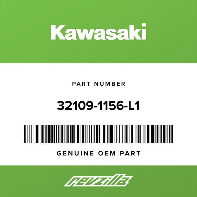 Kawasaki GRIP-FRAME, TAIL, C.C.RED 32109-1156-L1