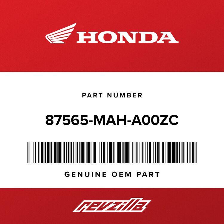Honda LABEL, COLOR (NH253A) (TYPE16) (SOURCE: VINTAGE PARTS INC.) 87565-MAH-A00ZC